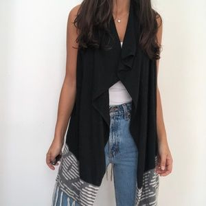 NEW Market & Spruce Sweater Vest Fringe